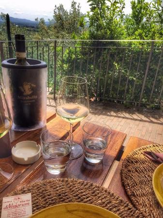 Enoteca DiVinorum: Vino with a view