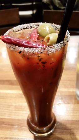 P.F. Chang's China Bistro: Asian Mary - It's a little spicy and I loved it!