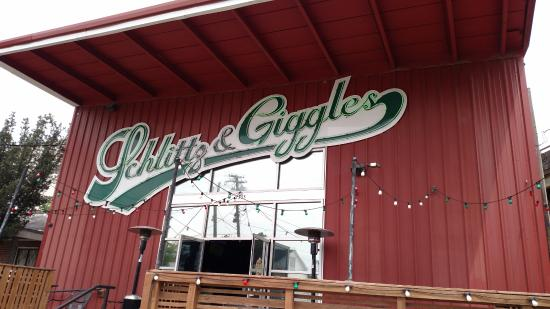 Schlitz and Giggles: Cool Place