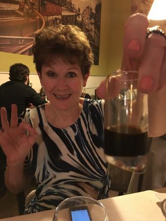 Nerino Dieci Trattoria: a super after dinner drink - licquorizia picante
