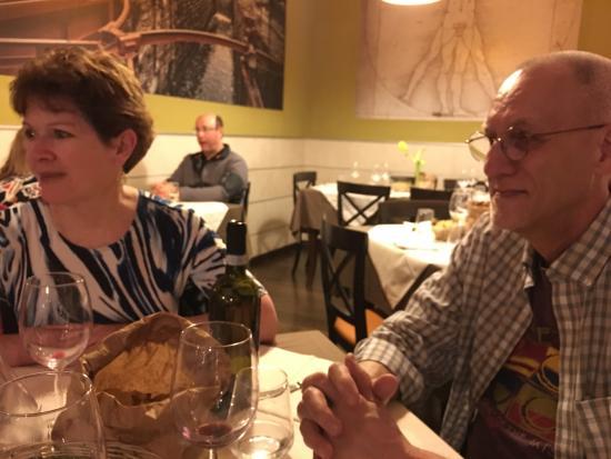 Nerino Dieci Trattoria: one corner of the dining room