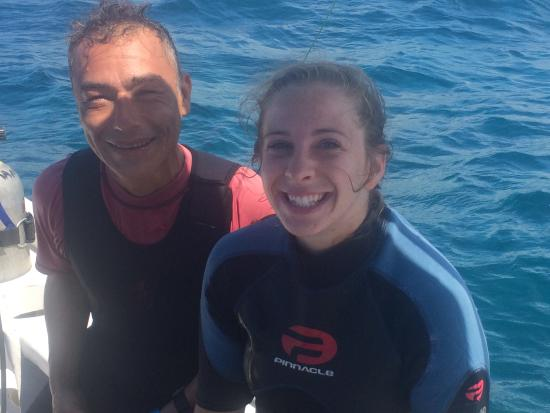 Manati Divers: My instructor Pedro!