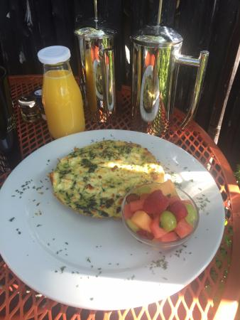 Palacio de Marquesa: Breakfast Fritatta