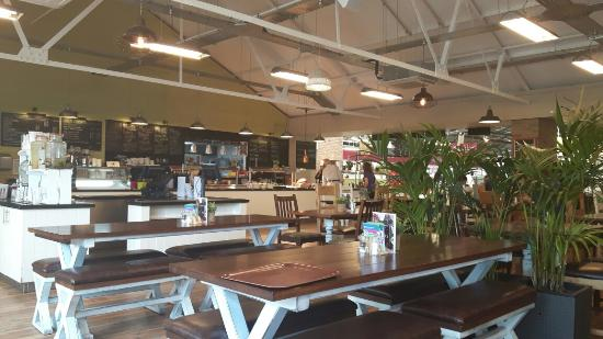 The Potting Shed Restaurant: Fabulous cafe in the garden centre