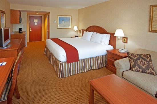 Holiday Inn Express Lynbrook : King Room with a Sofa Bed