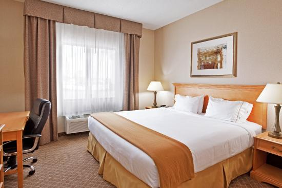 Holiday Inn Express Hotel & Suites Chesterfield: King Bed Guest Room
