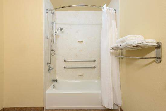 Holiday Inn Express Hotel & Suites Lexington Northeast: Holiday Inn Express Lexington NE Wheelchair Accessible Bathroom