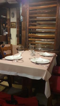 Very nice Mediterranean atmosphere and good food