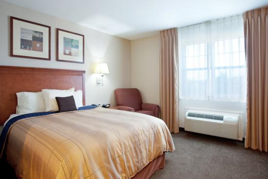 Candlewood Suites Galveston : Single Bed Guest Room