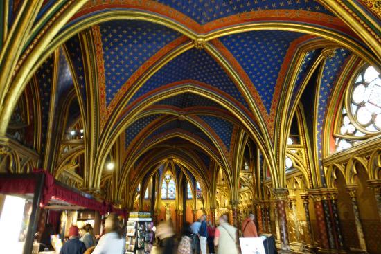 Parijs, Frankrijk: Sainte-Chapelle
