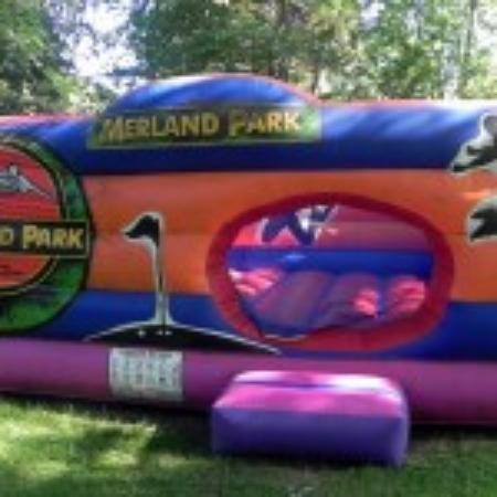 Merland Park Cottages: Our Jumping Castle