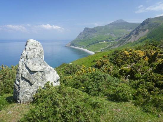 Clynnogfawr, UK: Beautiful coastal walking within easy reach of Bryn Eisteddfod