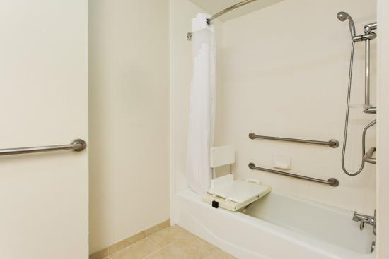 HI Express Baton Rouge Accessible Tub Insert - Picture of Holiday ...