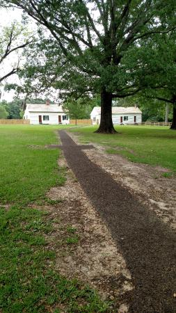 Natchez, MS: The slave houses/quarters