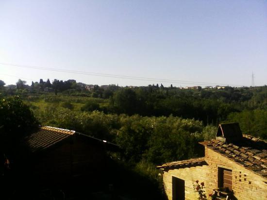 Capannoli, İtalya: View of the valley
