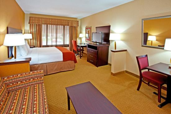 Holiday Inn Express Hotel & Suites Franklin : King Bed Guest Room