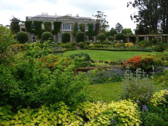 Mount Stewart House From The Sunk Garden
