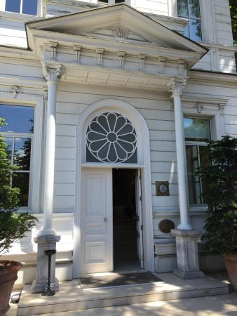Ajia Hotel: Entrance