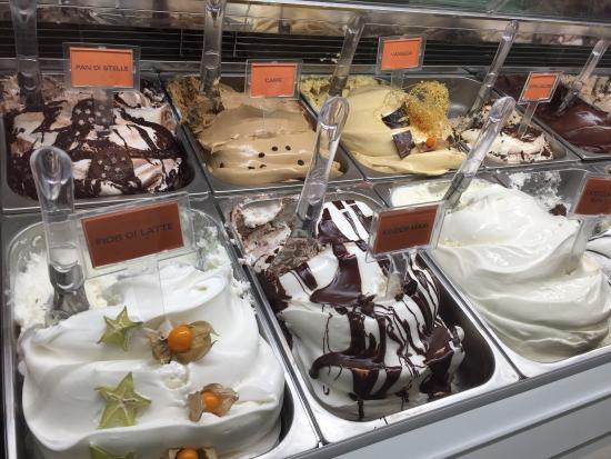 正宗義大利冰淇淋!
