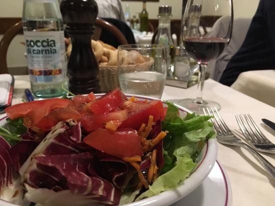 Osteria al Bacareto : Great place, good food, good wine and a friendly stafd