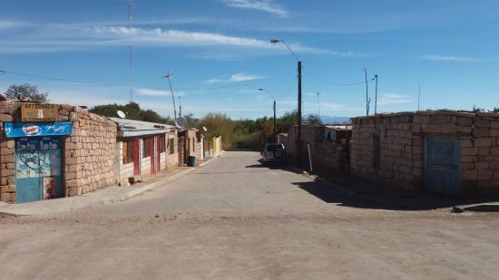 Toconao, Chile: Ruas laterais