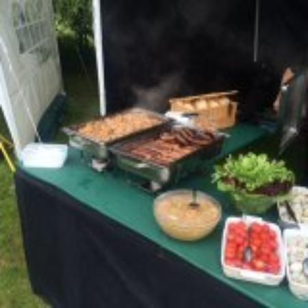 Spring House Farm Shop : our outside catering function