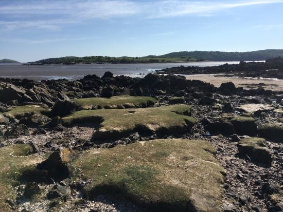 Rockcliffe beach - picturesque and beautiful.