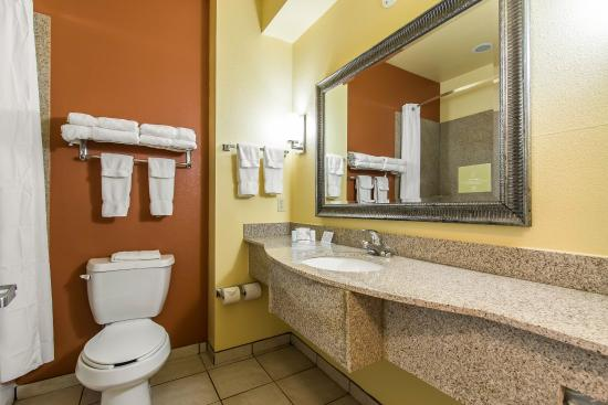 Sleep Inn & Suites Huntsville: Guest Bathroom