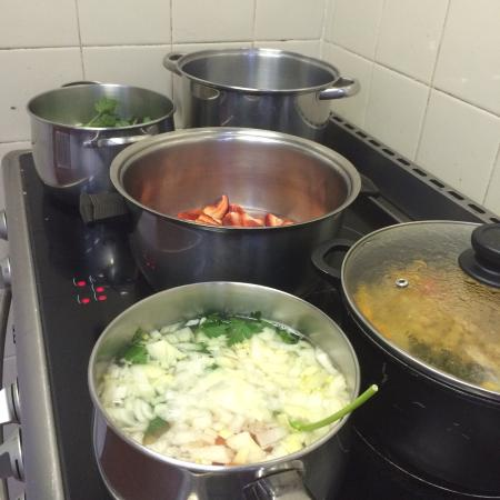 Kellyville, Australia: Lunch bubbling away