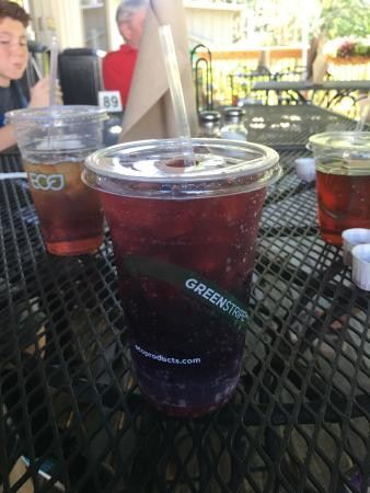 Old Rock Café : Cheerwine on tap!