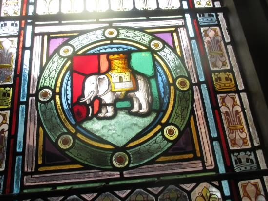 The Elephant Symbol Of Coventry Picture Of St Marys Guildhall
