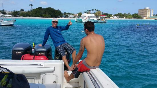 Thriller Ocean Tours: Best experience in Barbados was this snorkeling trip! 4 stops. Free unlimited drinks  from wonde