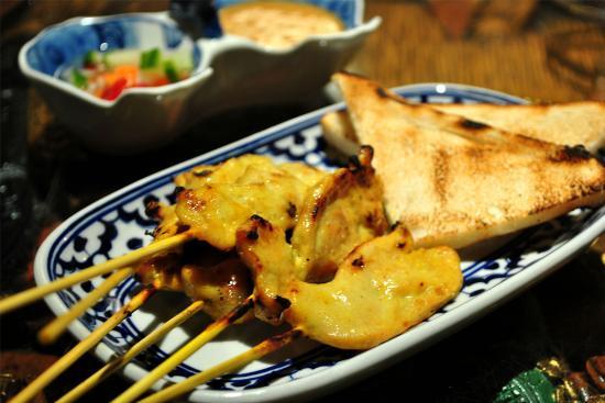 Bangkok House: Chicken satay