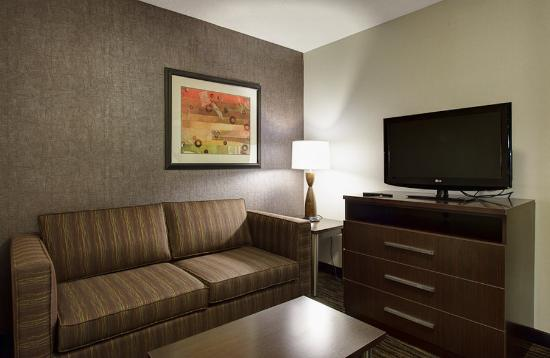 Holiday Inn Express Hotel & Suites North Fremont : Suite Living Room