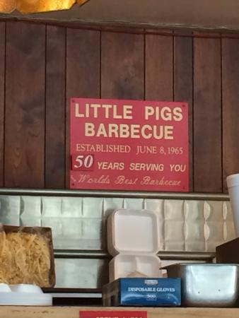 Little Pigs Barbecue-Anderson