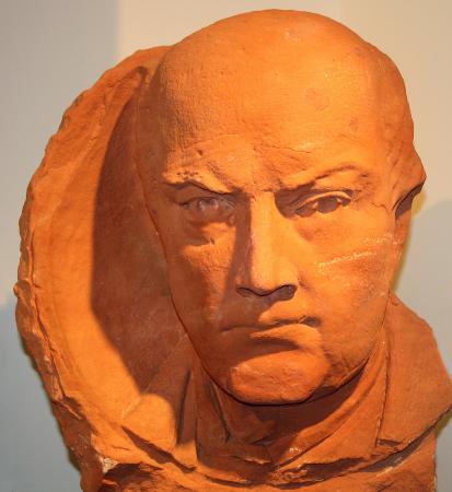 Dresden, Estado de Nueva York: Bust of Robert G. Ingersoll salvaged from the Beckwith Theatre
