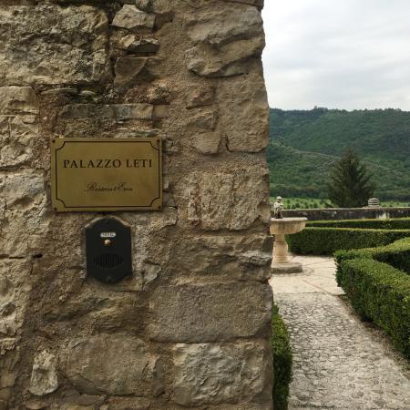 Palazzo Leti Residenza D'Epoca: entrada al hotel