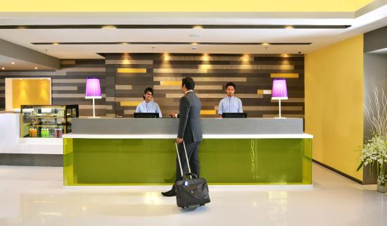 Front Desk at Holiday Inn Express Ahmedabad Ashram Road