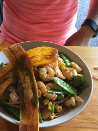 Senor Siesta: Shrimp stir fry