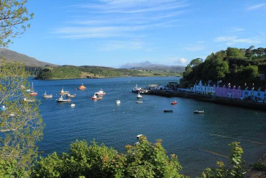 Ross and Cromarty, UK : portree Skye