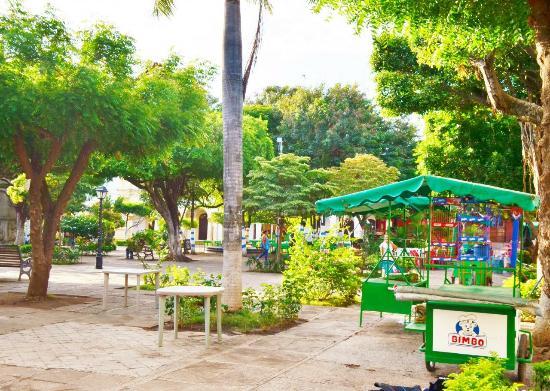 Γρανάδα, Νικαράγουα: 中央公園の様子