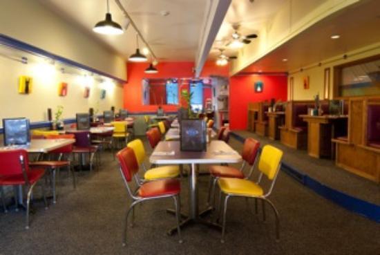 The Nova Cafe : Inside the dining room