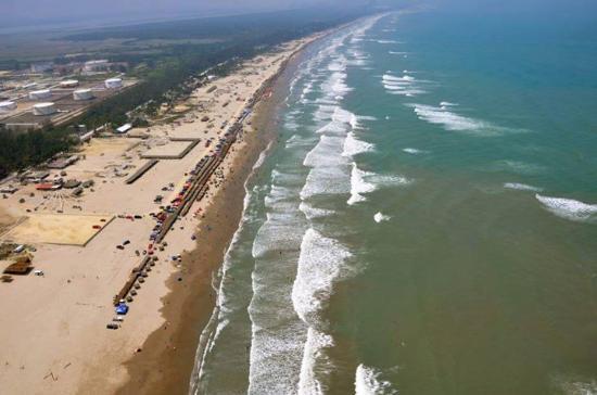 Tuxpan, Mexico: Vista áerea de la playa