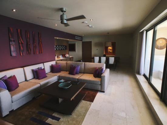 Club Ocean Front Master Suite Picture Of Hyatt Ziva