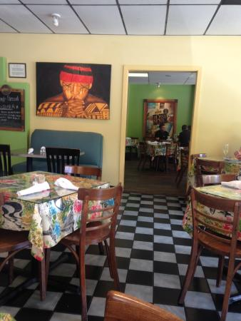 Cafe Bossa Nova: The decor