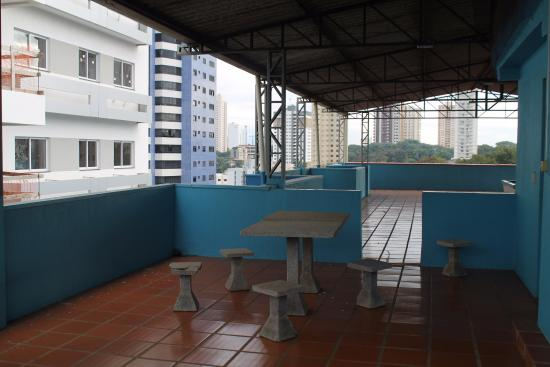 Hotel Lawrence: Terrace