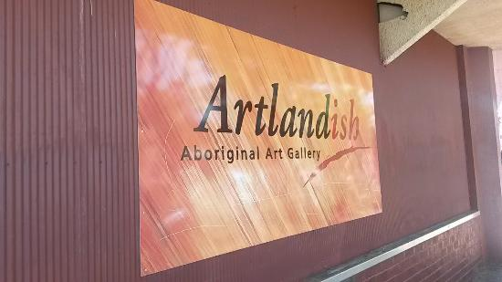 ‪Artlandish Aboriginal Art Gallery‬