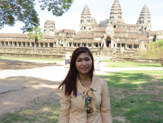 The professional tour guide, angkor guide travel picture of.