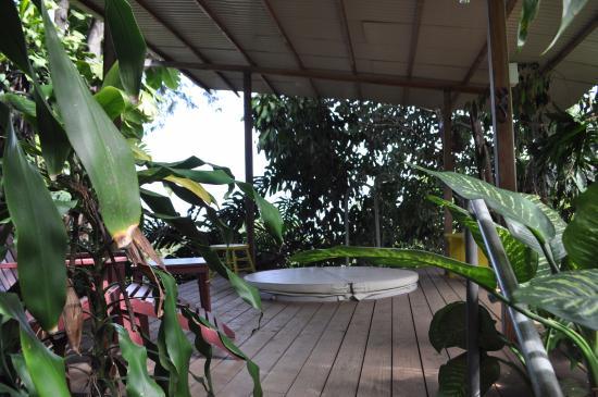 Holualoa, Hawái: Outdoor, covered hottub