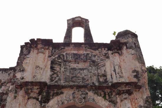 Malacca Heritage Centre: 산티아고 요새 입구